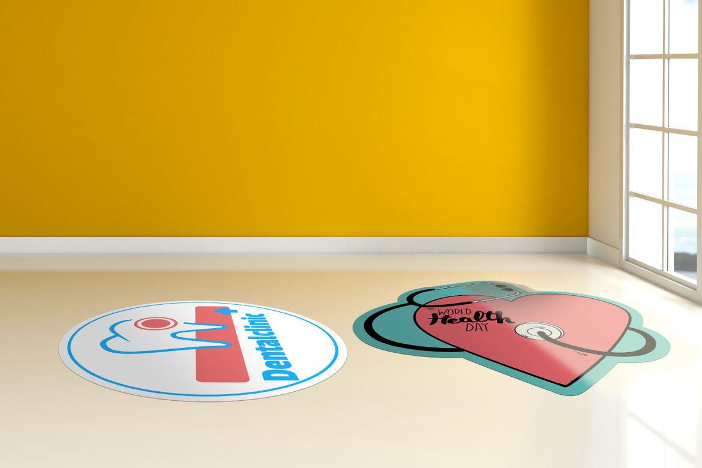 Online printing PVC walkable adhesive