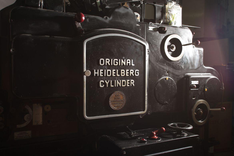 Stampa online Heidelberg Cylinder