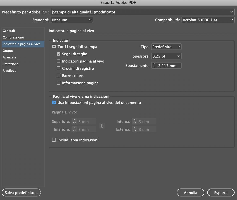 Come creare una brochure con Adobe Indesign Salvataggio