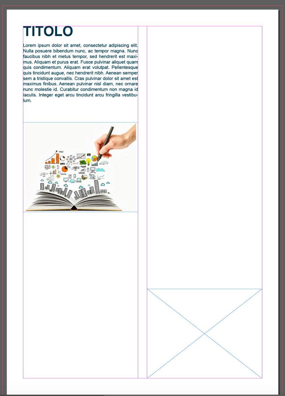 Come creare una brochure con Adobe Indesign Impaginazione