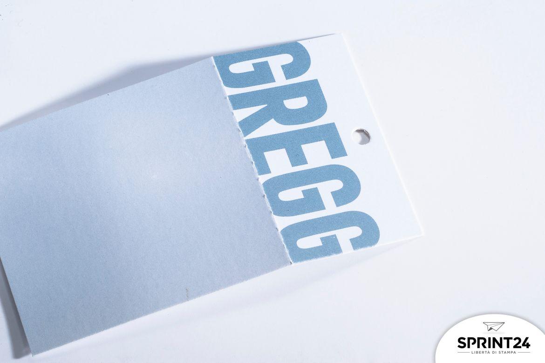 Stampa online Cartellino prezzo Gregg