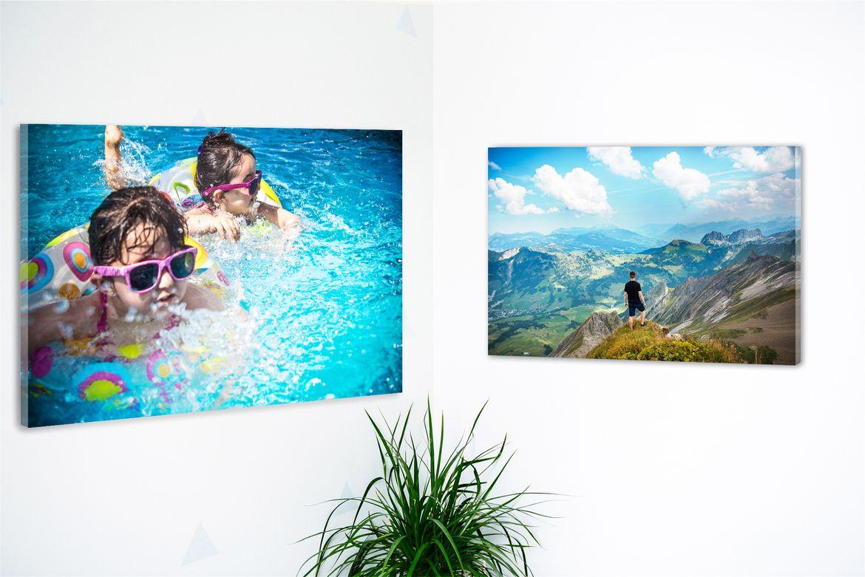 Stampa online carta fotografica vetro acrilico angolo