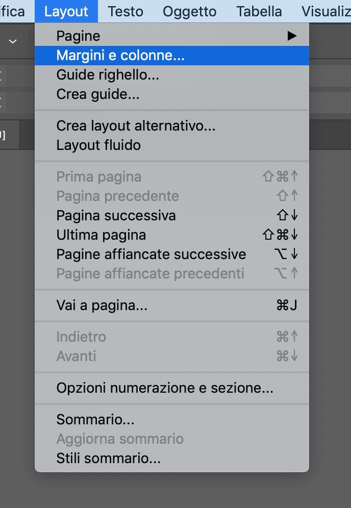 Come creare una brochure con Adobe Indesign Gabbie e griglie