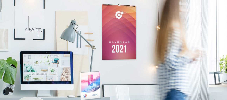 Stampa online calendari e Agende 2019