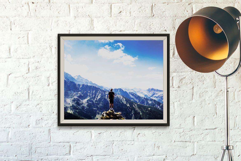 Stampa online carta fotografica paesaggio