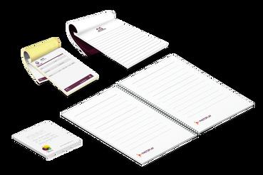 Imprimez en ligne vos blocs-notes, blocs numérotés, Postit: Imprimer bloc note et autocopiants, post-it personnalisés, cahiers, carnets en ligne. Découvrez comment personnaliser et imprimer des blocs-notes sur Sprint24