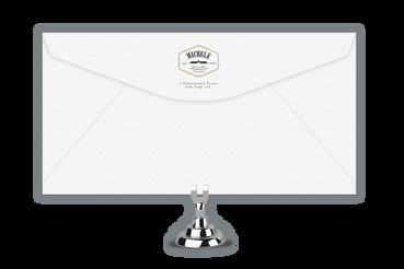 Buste da Lettera Stampate a Rilievo su Carta Cotone: Una busta di pregio che valorizza il suo contenuto. Ordina e stampa online un prodotto artigianale e curato con Michele Letterpress.