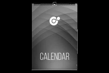 Calendari da muro - template libero