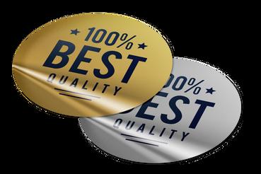 Etiquettes adhésives or et argent. Imprimez en ligne à des prix Avantageux - Sprint24: Imprimez en ligne les adhésifs étiquettes en or et argent personnalisés sur Sprint24 ! Promouvez votre compagnie à des prix incomparables.