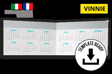 Calendrier de poche 17x5,5 cm: Télécharhez le paginé ci-dessus.  Cherchez-vous des photos à insérer dans un calendrier? Essayez une de nos collections de photos