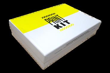 Recueils d'échantillons: •  Échantillons papiers et finitions •  Échantillons supports rigides •  Print kit: un recueil de produits-échantillon