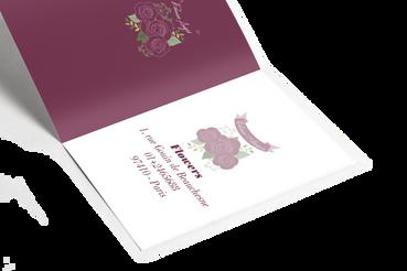 Cartes pliantes: Espace Double, même prix intéressants!: Imprimez en ligne vos cartes pliantes avec Sprint24. Personnaliselez-les comme vous le souhaitez. Clients et collègues l'apprécieront!