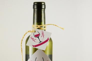 Stampa online cartellino vino