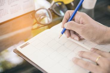 Agenda à imprimer: Calendrier à imprimer: voici comment imprimer un calendrier pour ne jamais manquer un rendez-vous. Apprenez tout sur l'impression numérique avec Sprint24.