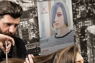Stampa online Calendario Muro Parrucchiere