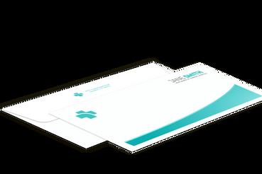 Enveloppes pour rapports médicaux: •  Pour des communications importantes •  Avec ou sans fenêtre •  Gabarits prêts