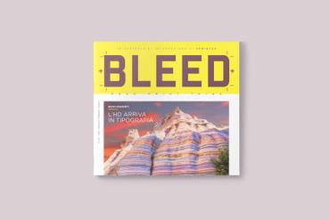 È arrivato Bleed: Magazine trimestrale d'informazione tipografica e comunicazione visiva.