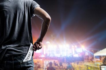 Billet de concert personnalisé: organisez l'événement!: Organisez-vous un grand événement? Sprint24 permet à tous les organisateurs d'imprimer leur propre ticket de concert personnalisé.