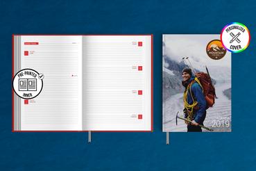 Agenda Settimanale con Copertina Rigida: Agenda settimanale con copertina rigida: scegli un'agenda con interno prestampato e personalizza la copertina per organizzare il tuo tempo e i tuoi impegni