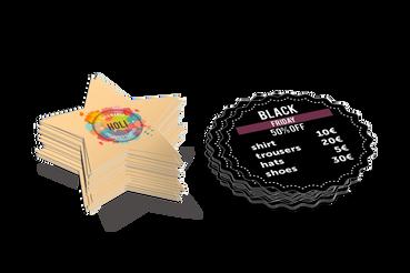Stampare Volantini e Cartoline Sagomate a Prezzi Vantaggiosi: Pubblicizza la tua attività: fai stampare volantini e cartoline sagomate online da Sprint24. Un servizio di stampa di qualità, veloce, a prezzi convenienti.