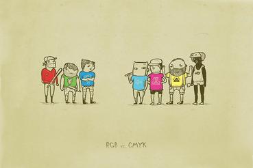 RGB vs. CMYK: Quando creiamo immagini per la stampa sul computer, o desideriamo stampare le immagini da una fotocamera digitale, è un errore piuttosto comune pensare che i colori visti sullo schermo avranno lo stesso aspetto una volta stampati. Come risultato ...