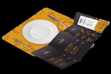 Stampati per ristorazione e hotel Online, Conviene!: Vuoi stampare prodotti per il tuo hotel o ristorante? Scegli Sprint24 per la stampa di portaconto, tovagliette, blocchi appunti o hangdoor professionali!