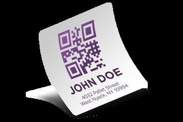 Etiquettes qrcode codes à barres variables: Imprimez en ligne: Imprimez en ligne les adhésifs qrcode code à barres variables personnalisés sur Sprint24 ! Promouvez votre compagnie à des prix incomparables !