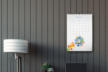 Online printing Wall calendars
