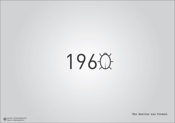 Date storiche in veste tipografica: Quante volte, a scuola, ci sarebbe piaciuto avere bene in mente le date più importanti durante le interrogazioni? Qualcosa che aiutasse la nostra memoria fotografica? I due designer georgiani Levan Patsinashvili e David Babiashvili hanno creato qua…