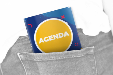 Agenda Pocket a punto metallico: •  A portata di mano •  Tanto piccola quanto utile •  L'agenda smart!
