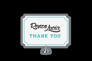 Scegli Reply Card e Biglietti d'Auguri Stampati a Rilievo: Si inviano a tutti coloro che hanno partecipato al matrimonio poche settimane dopo le nozze o al ritorno dalla Luna di Miele, magari allegando una foto o un ringraziamento dedicato al regalo ricevuto.
