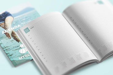 Agenda professionnel personnalisé: Agenda professionnel personnalisé: découvrez comment réaliser une agenda professionnel personnalisé sur Sprint24. Découvrez tous les avantages de l'impression numérique: lisez cet article pour en savoir plus sur impression haute qualité.