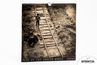 Online printing Sentieri di nuove esperienze Wall calendar