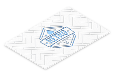 Biglietti Letterpress con bassorilievo: * Stampa a secco in bassorilievo * Carta cotone da 600 gr * Assolutamente elegante