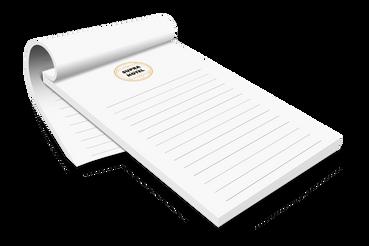 Blocchi Appunti Personalizzati: Stampa Online e risparmi!: Stampa online blocchi appunti personalizzati per il tuo ristorante o albergo. Scegli la convenienza di una tipografia online di qualità.