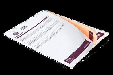 Fascicoli copiativi: •  Fascicoli copiativi sciolti •  Rilegati con colla •  Usati per ordini, ddt, ricevute