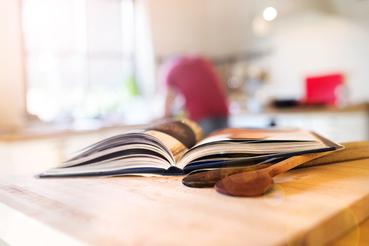 Imprimer un livre de cuisine: nourriture, mon amour!: Voulez-vous imprimer un livre de cuisine? Découvrez le service en ligne sur Sprint 24.