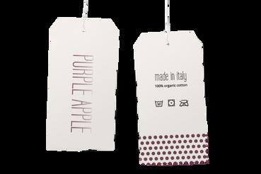 Imprimer en ligne des étiquettes et des signets pour habillement: Configurez, commandez et imprimez en ligne vos étiquettes et vos signets pour habillement. Faites confiance à la compétence de Sprint24: service d'impression impeccable, grande facilité.