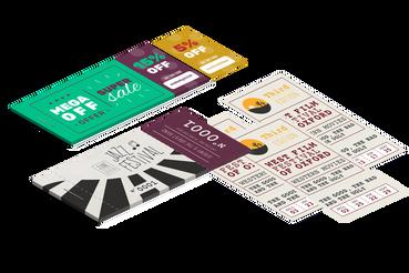 Stampa Blocchi e Biglietti Numerati , Conviene!: Personalizza e stampa online i tuoi blocchi e biglietti numerati su Sprint24: pratici e di qualità, rendono più efficienti i tuoi affari.