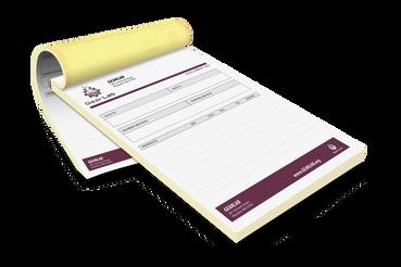 Blocs en papier chimique autocopiant: Imprimez en ligne et économisez!: Impression de blocs autocopiants en ligne. Imprimer vos blocs en papier chimique autocopiant sur Sprint24: l'imprimerie en ligne qui offre qualité et facilité