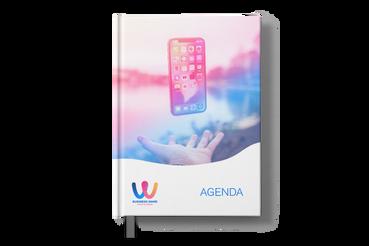 Agende cartonate, Configura e Ordina Online con Sprint24: Agende cartonate personalizzate. Su Sprint24 promuovi la tua azienda ogni giorno.