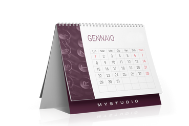Calendari da tavolo - template 13 fogli