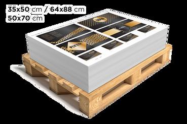 Planches Amalgames Ennoblies: •  Marquage à chaud, détails UV etc. •  Trois formats parmi lesquels choisir •  Pour les professionnels du secteur