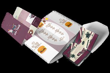 Volantini piegati - tutti i formati: •  A colori su carta patinata da 115 gr •  4 tipologie di piega •  Scegli tra 5 formati standard