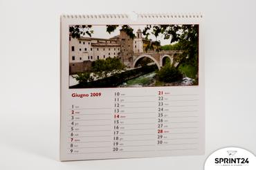 Online printing Rotostampa 2009 Wall calendar