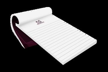 Blocchi appunti con copertina: Blocchi appunti con copertina. Scegli il servizio di stampa offset e di stampa digitale della topografia a Roma Rotostampa Group. La tipografia online.