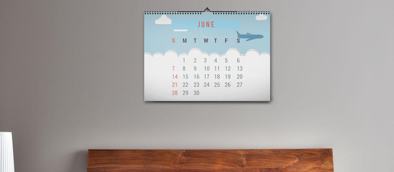 Calendario Da Muro Camera: Calendari da muro personalizzati. Comunicazione quotidiana.