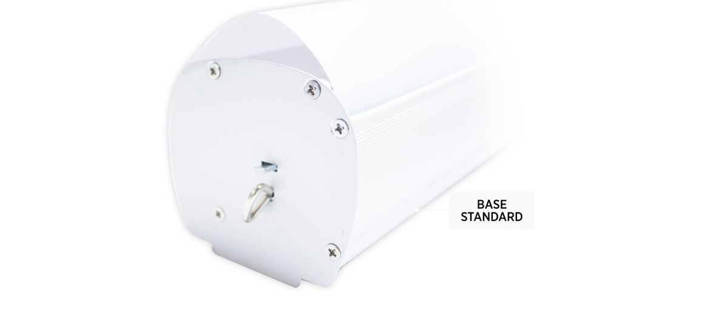 Roll-up standard base