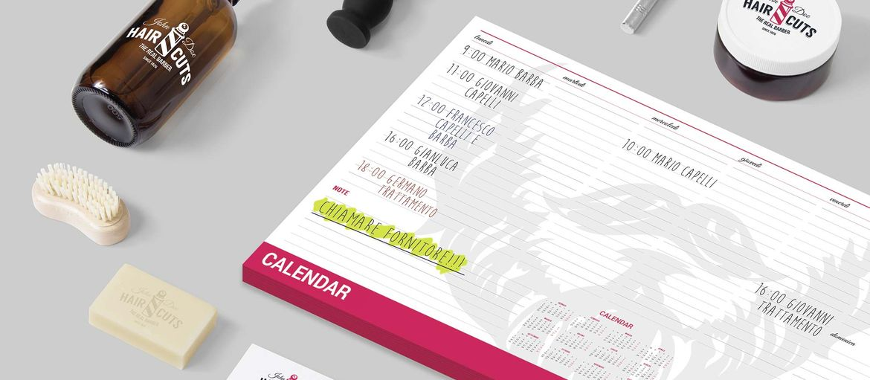 Stampa online Planning Calendario Barber