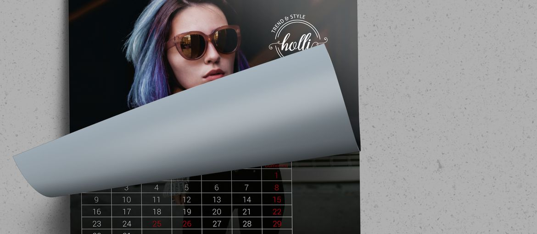 Calendario Muro Fashion